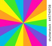 starburst in bright colors | Shutterstock . vector #645740938