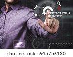 business  technology  internet... | Shutterstock . vector #645756130