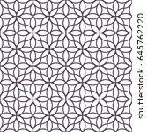 delicate monochrome seamless... | Shutterstock .eps vector #645762220