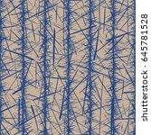 vector seamless pattern.... | Shutterstock .eps vector #645781528