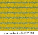 vector seamless pattern.... | Shutterstock .eps vector #645781534