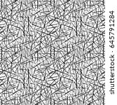 vector seamless pattern.... | Shutterstock .eps vector #645791284
