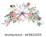 flower bouquet | Shutterstock . vector #645823354