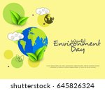 creative poster or banner of... | Shutterstock .eps vector #645826324