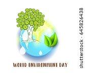 illustration of world...   Shutterstock .eps vector #645826438
