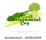 illustration of world... | Shutterstock .eps vector #645826444