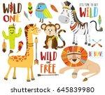 Safari And Jungle Tribal...