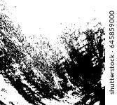 illustration with grunge metal... | Shutterstock .eps vector #645859000