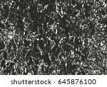 distressed overlay texture of... | Shutterstock .eps vector #645876100