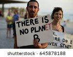 tel aviv  israel  may 22  2017  ... | Shutterstock . vector #645878188