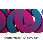 circle geometric abstract... | Shutterstock .eps vector #645892534