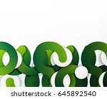 circle geometric abstract... | Shutterstock .eps vector #645892540