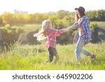 sister girls having fun in the...   Shutterstock . vector #645902206