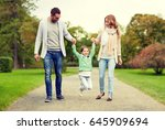 family  parenthood  adoption... | Shutterstock . vector #645909694