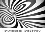 vector twisted stripes optical... | Shutterstock .eps vector #645954490