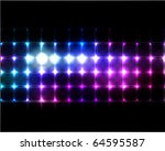 vector lights background | Shutterstock .eps vector #64595587