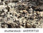 multicolored granite stone... | Shutterstock . vector #645959710