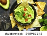 Avocado Dip Guacamole With...