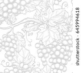 seamless pattern with grapes....