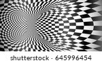 vector abstract black and white ... | Shutterstock .eps vector #645996454
