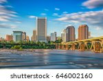 richmond  virginia  usa... | Shutterstock . vector #646002160