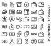 payment icons set. set of 36... | Shutterstock .eps vector #646003234