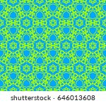 abstract repeat backdrop.... | Shutterstock .eps vector #646013608