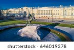 the monument to peter the first.... | Shutterstock . vector #646019278