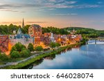 Small photo of Augusta, Maine, USA downtown skyline on the Kennebec River.