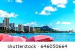 Umbrellas Galore At Waikiki...