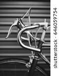 vintage hipster bicycle in... | Shutterstock . vector #646059754