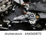 destroyed hard disk drive | Shutterstock . vector #646060870