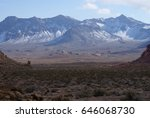 snow in the valley | Shutterstock . vector #646068730