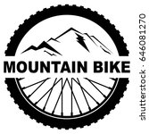 wheel mountain bike | Shutterstock .eps vector #646081270