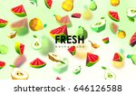 creative background with low... | Shutterstock .eps vector #646126588
