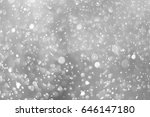 bokeh background black and... | Shutterstock . vector #646147180