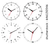 A Set Of Four Mechanical Clocks....