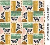 seamless african pattern