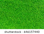 green lawn for background.... | Shutterstock . vector #646157440