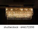vintage wall lamp | Shutterstock . vector #646172350