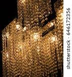 vintage wall lamp | Shutterstock . vector #646172356