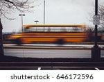 Schoolbus In Motion  Capture...