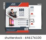 business flyer vector design  ... | Shutterstock .eps vector #646176100