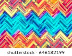 colorful  abstract  banner ... | Shutterstock . vector #646182199