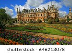 waddesdon manor and landscaped...