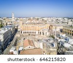 historic city center of lecce... | Shutterstock . vector #646215820
