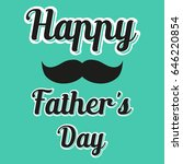 happy fathers day background   Shutterstock .eps vector #646220854