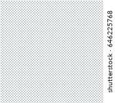 vector grey dot pattern.... | Shutterstock .eps vector #646225768