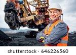 coal mining worker | Shutterstock . vector #646226560