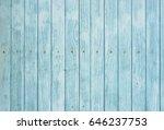 light blue wood background... | Shutterstock . vector #646237753
